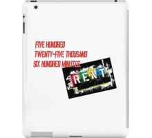 Rent the Musical Seasons Of Love iPad Case/Skin