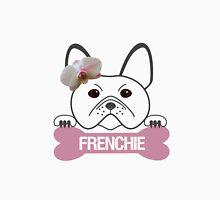 Frenchie Girl with Bone Unisex T-Shirt
