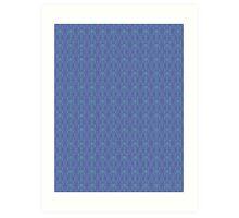 Royal Air Force Blue Design D Art Print