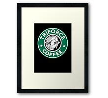 Triforce coffee 1 Framed Print