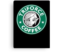 Triforce coffee 1 Canvas Print