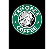 Triforce coffee 1 Photographic Print
