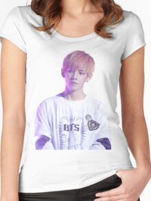 BTS V Women's Fitted Scoop T-Shirt