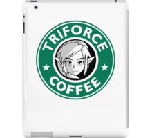 Triforce coffee 1 iPad Case/Skin