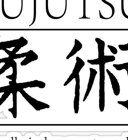 Jujutsu / Jiujutsu Sticker
