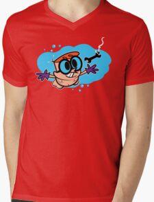 Nevermind Dexter Mens V-Neck T-Shirt