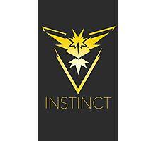 Pokemon Go Team Instinct Photographic Print