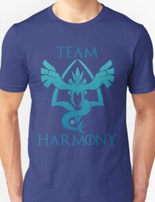 Team Harmony - Black Unisex T-Shirt