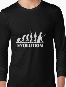 evolution from monkey to human Long Sleeve T-Shirt