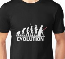 evolution from monkey to human Unisex T-Shirt