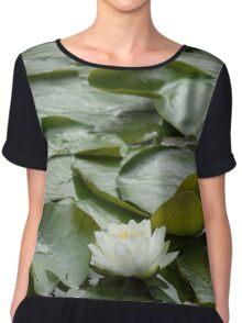 Water Lily  Chiffon Top