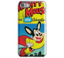 Vintage Style : The New Adventures Of Mighty Mouse iPhone Case/Skin