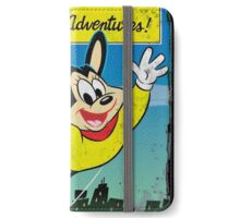 Vintage Style : The New Adventures Of Mighty Mouse iPhone Wallet/Case/Skin