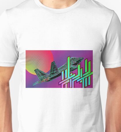 Fifth Dimension Ambigram Jet Tessellated Sphere Unisex T-Shirt