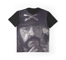 Lemmy Kilmister Graphic T-Shirt