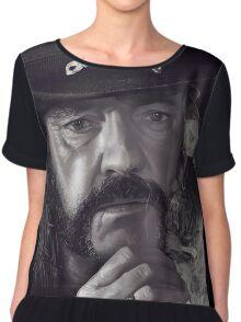 Lemmy Kilmister Chiffon Top