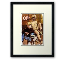 Jonny Quest And Hadji Framed Print