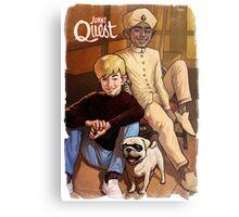 Jonny Quest And Hadji Metal Print