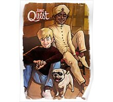 Jonny Quest And Hadji Poster