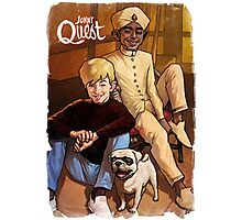 Jonny Quest And Hadji Photographic Print