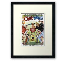 Jonny Quest : The Venture Bros. Framed Print