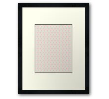 Aero Blue Design B Framed Print