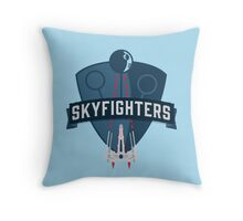 Skyfighters  Throw Pillow