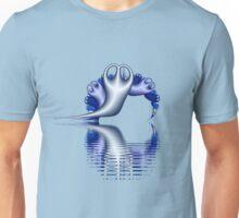 Ghost Peeble Fractals Unisex T-Shirt