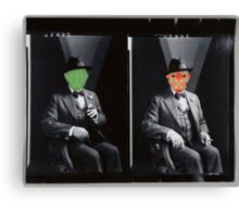 Twofaced Man Canvas Print