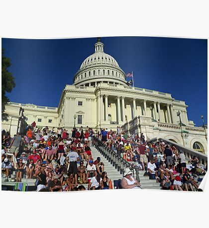 A Capitol 4th of July Poster