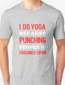 Yoga, fitness and Health Unisex T-Shirt