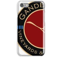 Gander Way Vineyards & Winery, LLC Logo iPhone Case/Skin