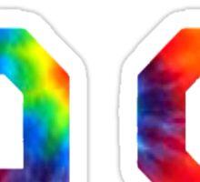 Dolan 99 tie dye Sticker