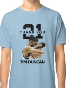 Thank You Timmy - Spurs NBA  Classic T-Shirt