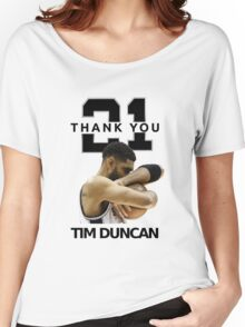 Thank You Timmy - Spurs NBA  Women's Relaxed Fit T-Shirt