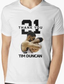 Thank You Timmy - Spurs NBA  Mens V-Neck T-Shirt