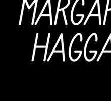 Margaret Haggard Logo - Black Sticker