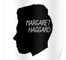 Margaret Haggard Logo - Black Poster