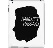 Margaret Haggard Logo - Black iPad Case/Skin