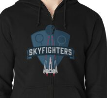 Skyfighters  Zipped Hoodie