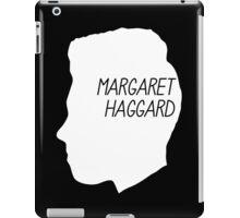 Margaret Haggard Logo - White iPad Case/Skin