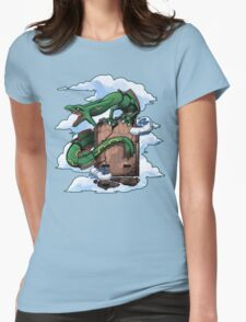 Emerald Womens Fitted T-Shirt