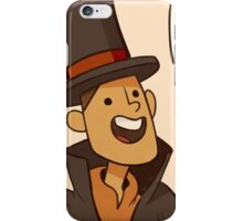 Professor Layton and the diabolical box iPhone Case/Skin