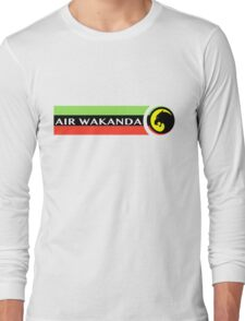 Air Wakanda- Logo Long Sleeve T-Shirt