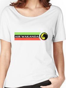 Air Wakanda- Logo Women's Relaxed Fit T-Shirt