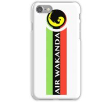 Air Wakanda- Logo iPhone Case/Skin
