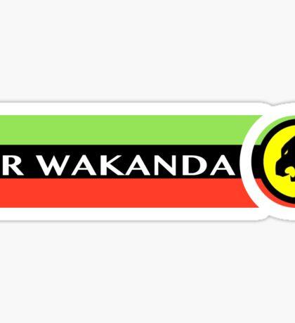 Air Wakanda- Logo Sticker