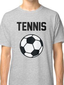 Tennis - Black Classic T-Shirt