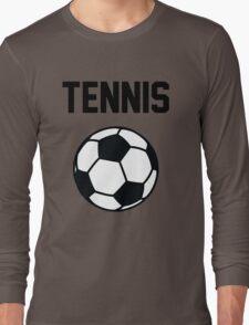 Tennis - Black Long Sleeve T-Shirt