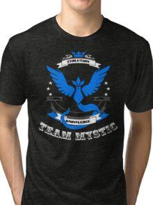 Team Mystic Pokemon Go Tri-blend T-Shirt